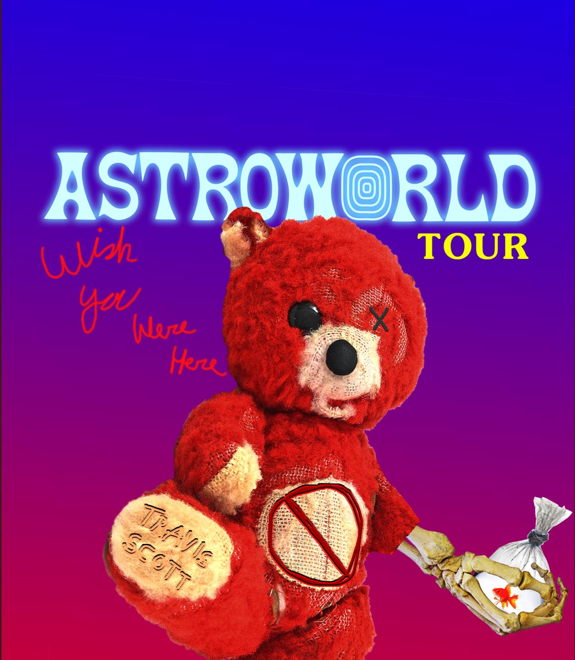 51220fd8ad21 Travis Scott: ASTROWORLD - WISH YOU WERE HERE TOUR - Tampa